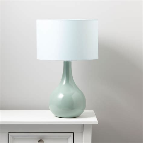 Duck Egg Bedside Table Ls by Portia Duck Egg Table L Departments Diy At B Q