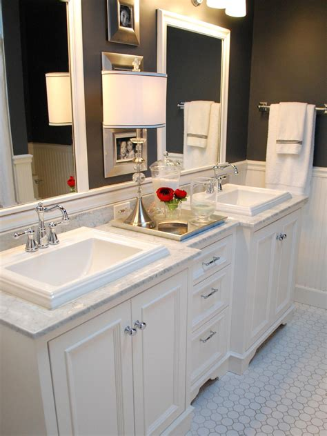 bathroom vanity color ideas black and white bathroom designs bathroom ideas designs hgtv
