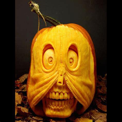unique pumpkins unique creative pumpkin carvings