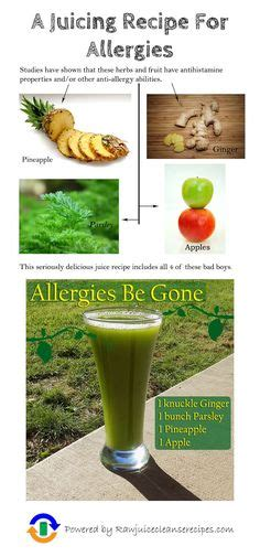 Detox Juice For Allergies by Do You Suffer From Allergies Many Allergies Are Connected