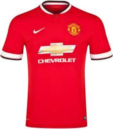 Manchester United Chevrolet Jersey New Manchester United Kit 14 15 Nike Utd Home Jersey
