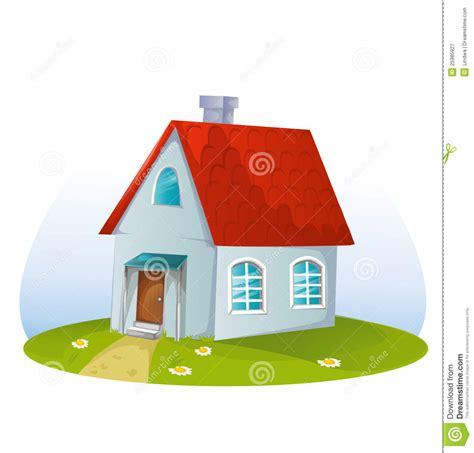 cartoon house cartoon house royalty free stock photography image 25985927