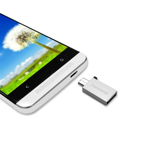 Usb Otg Transcend mini cl 233 usb micro usb otg android 8 gb transcend