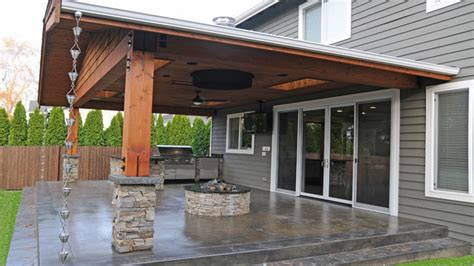 Covered fire pits, covered patio with fire pit patio with