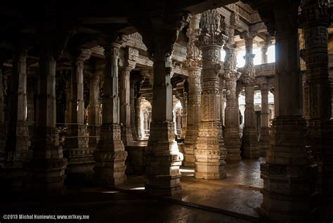 Temple Interior by Indian Temples Photography M1key Michal Huniewicz