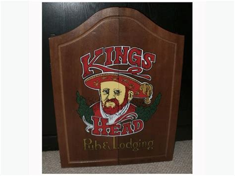 vintage dart board cabinet vintage king s head pub lodging wood cabinet and dart