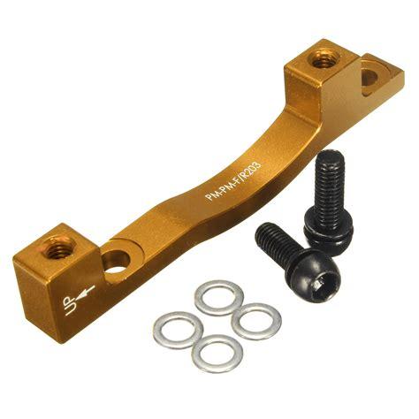 Adaptor Bmx mtb bicycle bike disc brake mount adaptor f203mm r203mm pm mounting brake adaptor alex nld