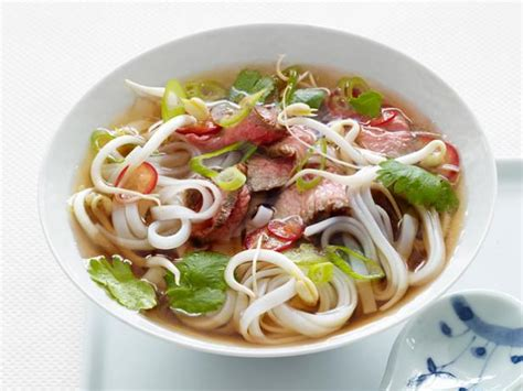 vegetables used in pho noodle soup recipe food network kitchen