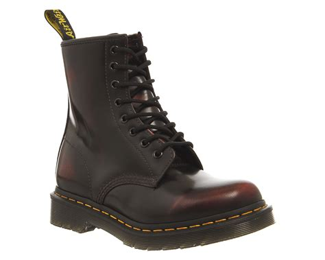 Sepatu Boot Dr Marten Code Dr 01 dr martens 8 eyelet lace up boots cherry arcadia