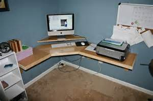 How To Build A Corner Computer Desk Build Wooden Build Your Own Corner Desk Plans Build Wood Oven Pizza