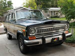 1982 jeep wagoneer information and photos momentcar