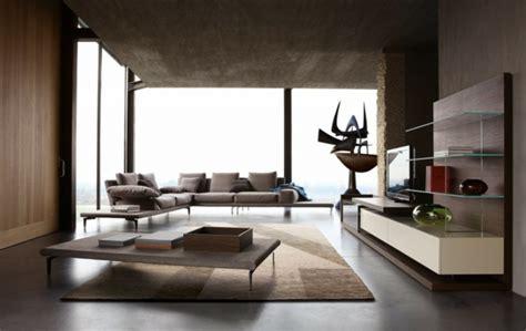 minimalistisches wohnzimmer 120 wohnideen f 252 r luxuri 246 se wohnzimmer m 246 bel roche bobois