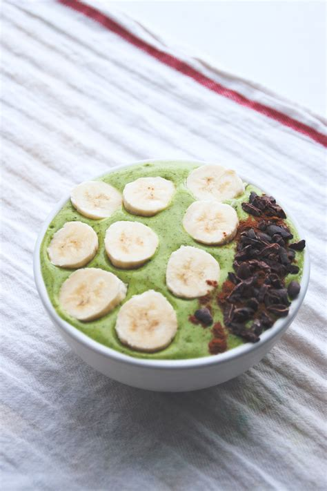 Green Detox Smoothie Bowl by Festive Friday Green Detox Smoothie Bowl A
