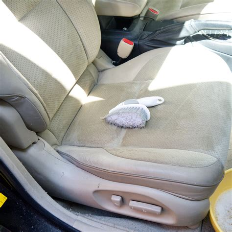 cleaning car upholstery at home how to clean car seats popsugar smart living