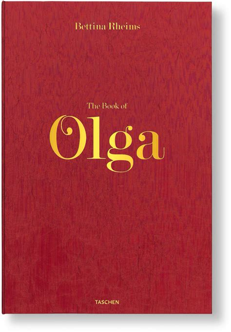 olga books bettina rheims the book of olga limited edition