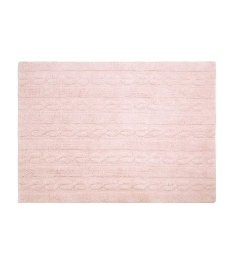 small pink rug trenzas soft pink small washable rug