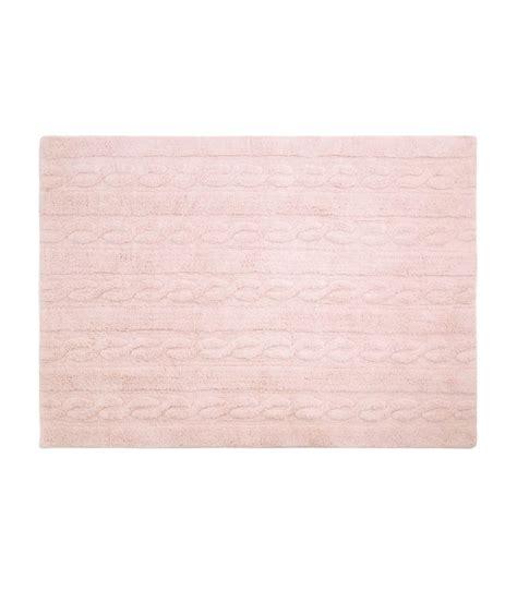 large pink rugs trenzas soft pink large washable rug