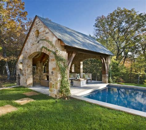 cabana house stone residence 1 traditional pool nashville by