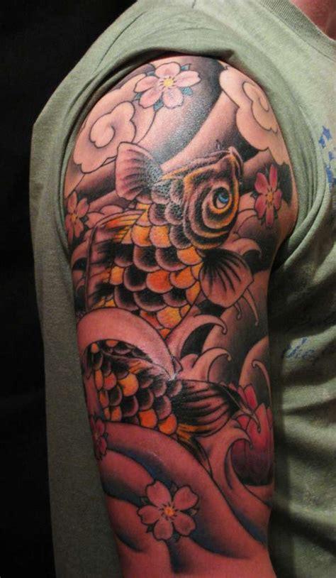 tattoo hand koi free hand koi tattoo