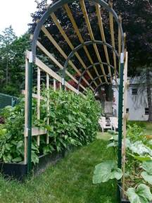 How To Build An Arbor Trellis by Building A Trellis For Tomato Plants
