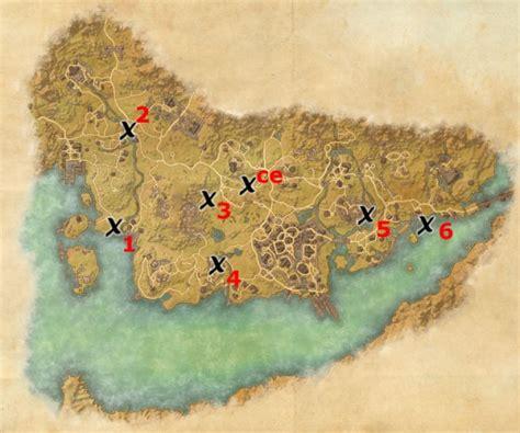 stormhaven treasure map stormhaven treasure map locations elder scrolls