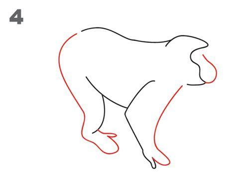 how to draw a swinging monkey kako nacrtati majmuna sveznan