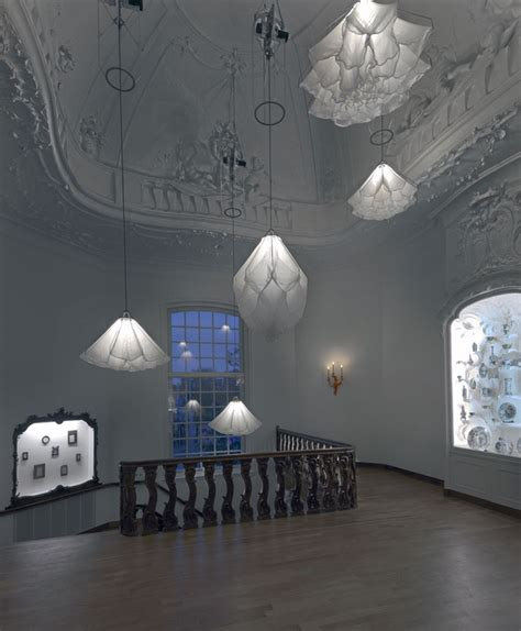 light installation by studio drift at rijksmuseum