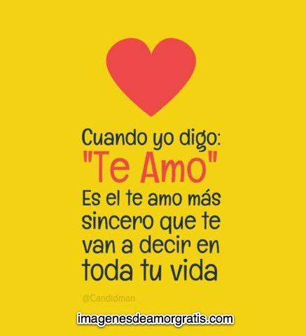 imagenes de amor sincerl tes google and te amo on pinterest