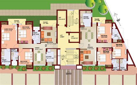 celebrity homes floor plans parsvnath paramount project by parsvnath developers ltd