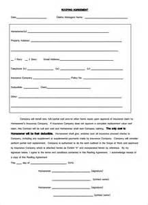 roofing contract template 5 roofing contract templates free pdf format