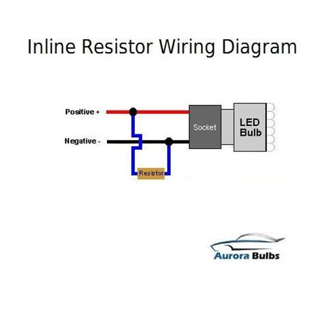 led resistor wiring diagram 10w led canbus warning error free load resistor kit bulbs