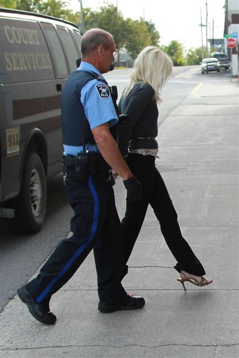 Handcuffed On Way To Court by Handcuffed In Court Related Keywords