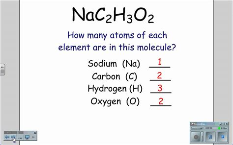Number Of Atoms In A Formula Worksheet by Formulas And Subscripts