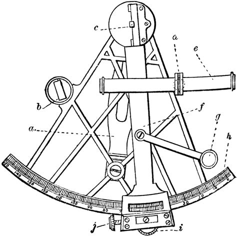 sextant drawing www pixshark images galleries with - Sextant Drawing