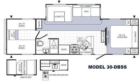puma rv floor plans used 2013 palomino puma 30 dbss travel trailer at ac