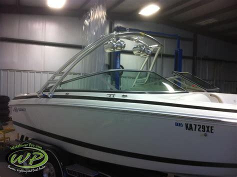 cobalt boats vs sea ray wakeboard tower boat tower waketower speakers pontoon