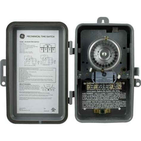 ge 24 hour heavy duty mechanical time switch 15164 the
