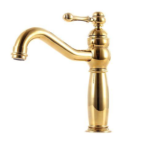 gold faucet bathroom gold bathroom faucet vessel polished brass luxury single handle