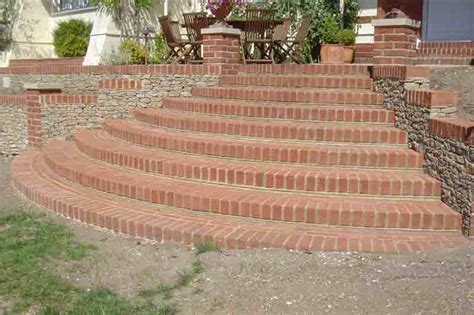 Stairs Design surrey radial steps 3 pc landscapes