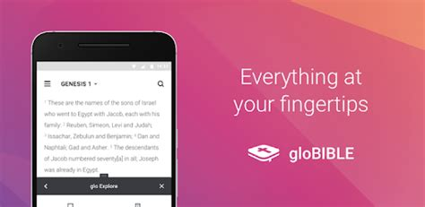 glo bible app for android glo bible for pc