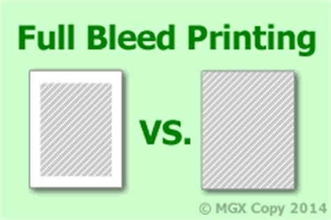 bleed layout definition what is full bleed printing and why do i need it the