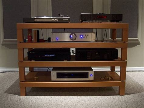 diy hifi rack diy audio projects stereonet