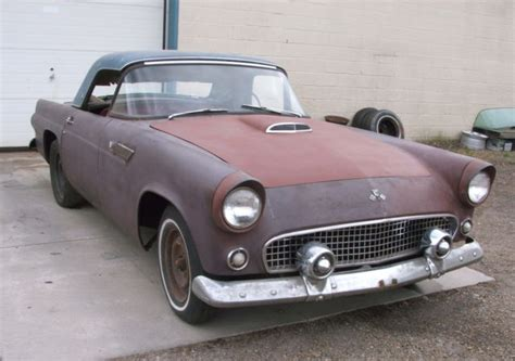 1955 ford t bird for sale early 1955 t bird for restoration