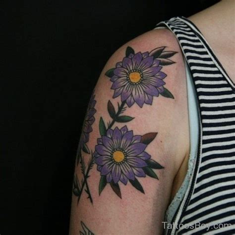 daisy shoulder tattoo tattoos designs pictures page 3