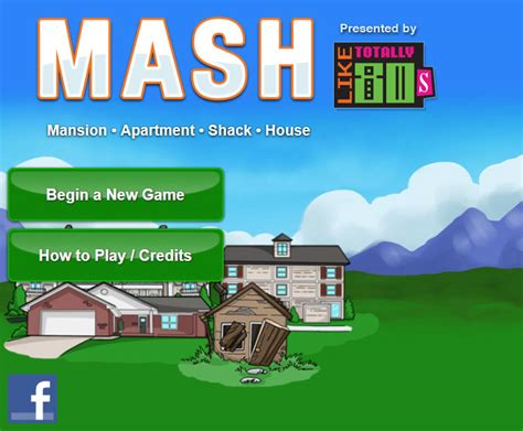 mash the 90s facebook play mash like totally 80s