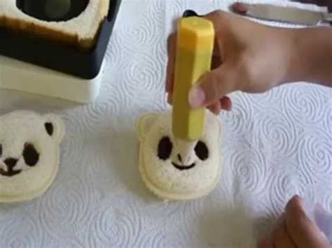 Cara Membuat Roti Tawar Lucu | cara membuat roti sandwich bento lucu dan enak youtube