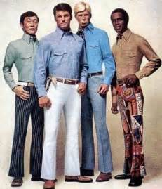 in the 1960s started wearing brighter colors their