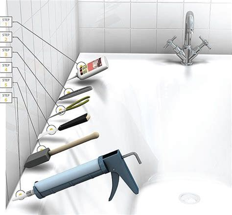 Best Way To Remove Caulk From Bathtub by 17 Best Ideas About Caulking Tub On Caulking