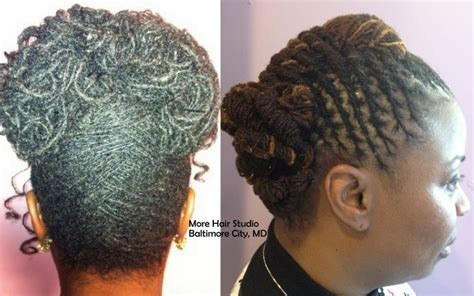 sisterlocks hairstyles picture gallery pin by dr charity freeman on my sisterlock sisters