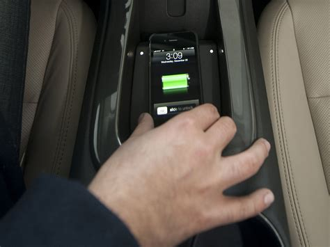 chevy volt in line for powermat mobile device
